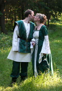 Mittelalter Hochzeit, Heidnische Hochzeit, Handfasting, Heirat